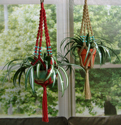 Sizzling image with regard to free printable macrame plant hanger patterns