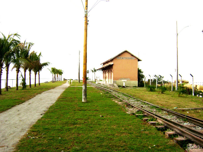 A estação no tempo atual