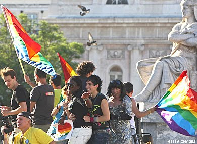 Gay Pride in Lisbon, Capital of Portugal