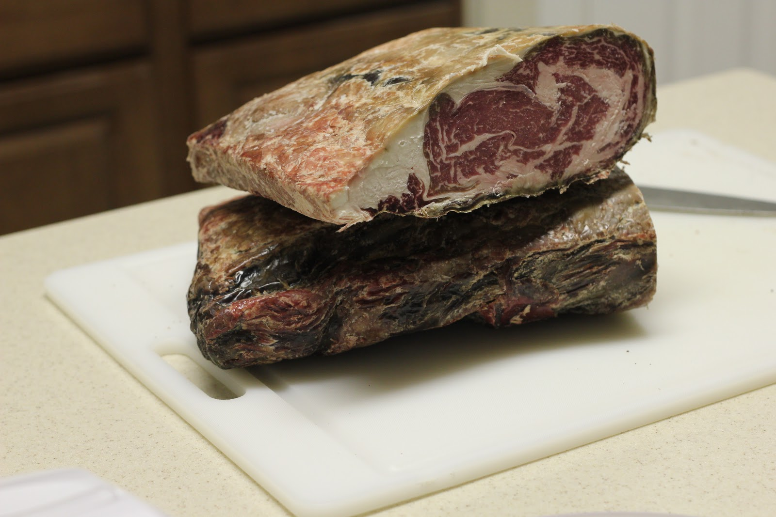 updated dry aged steak at home cooked to perfection. Black Bedroom Furniture Sets. Home Design Ideas