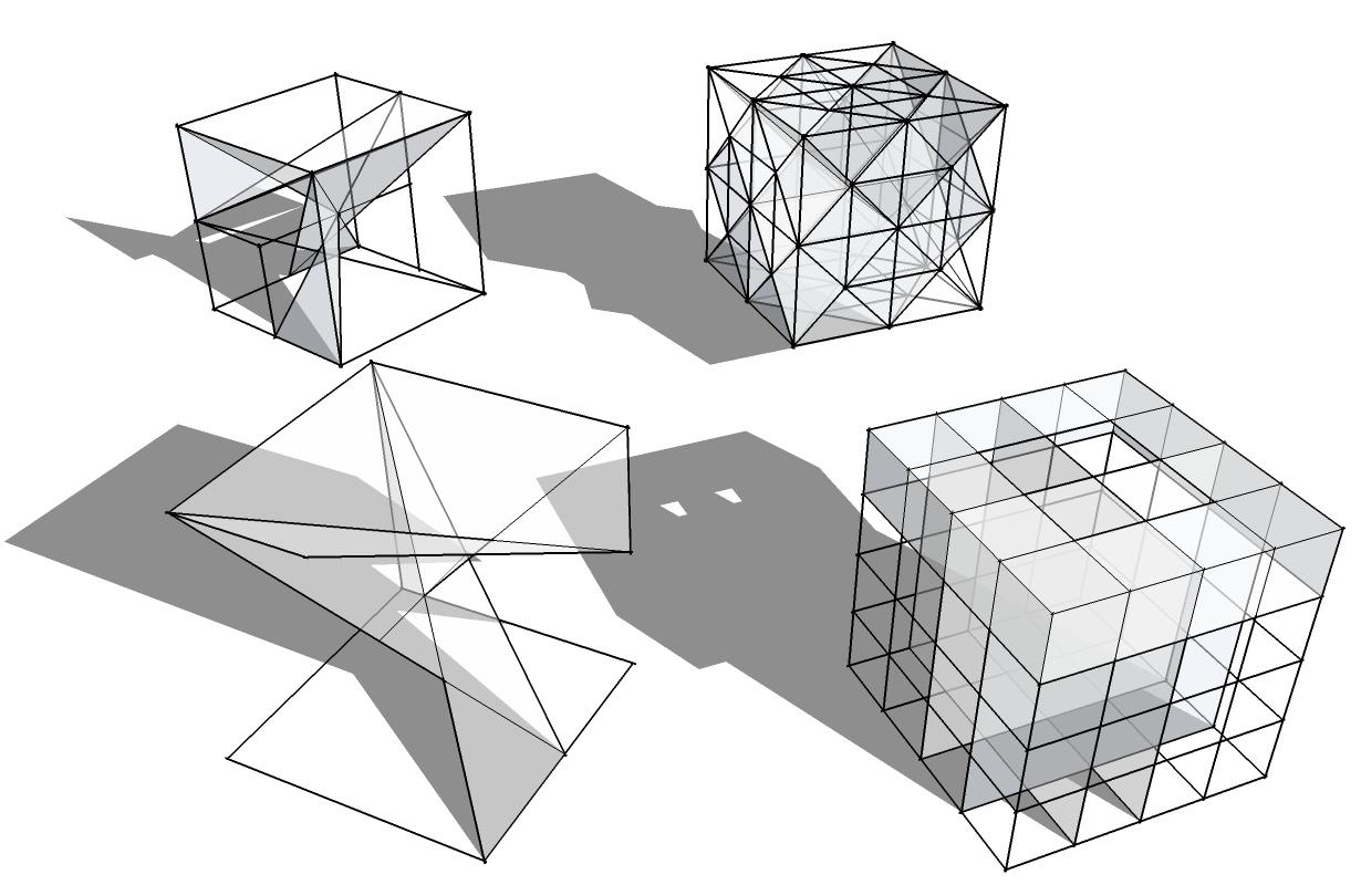 Laboratorio de la forma agosto 2010 for Estructura arquitectura