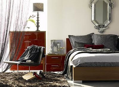 k%C4%B1rm%C4%B1z%C4%B1+yatak+odas%C4%B1 Dekorasyonda kırımızı renk