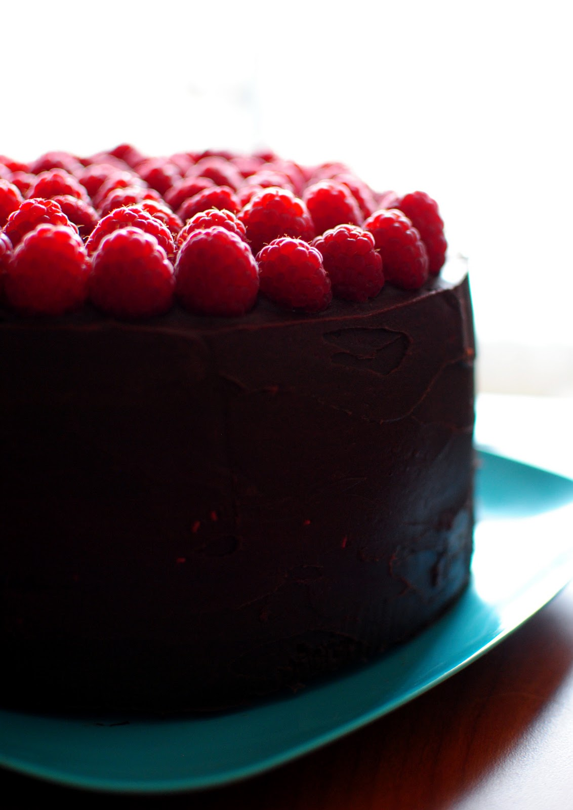 Thebakedbeen Noosh 39 S Dark Chocolate Raspberry Birthday Cake