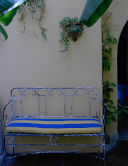A Courtyard Bench