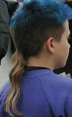 Rattails the hairstyle the world could do without now thats nifty this is an example of normal hair cut with a nasty rattail sprouting out of no where urmus Image collections