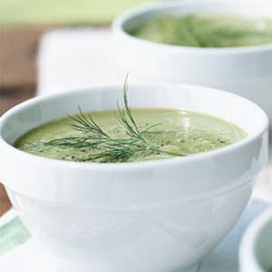 The Restaurant at the End of the Internet: Recipe - Cold Cucumber Soup