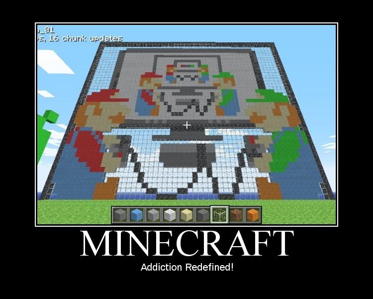 Minecraft un gran juego