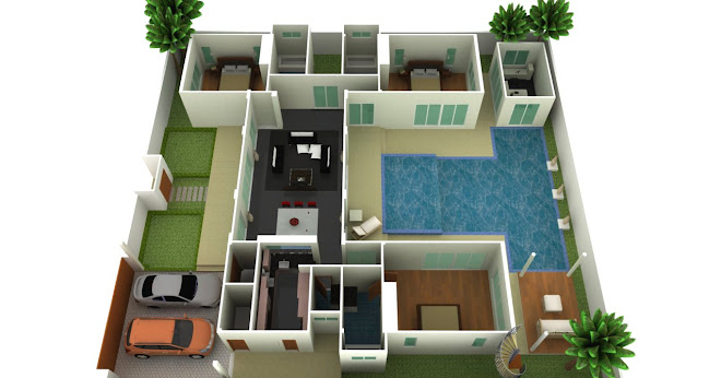 THREE BEDROOM POOL VILLAS