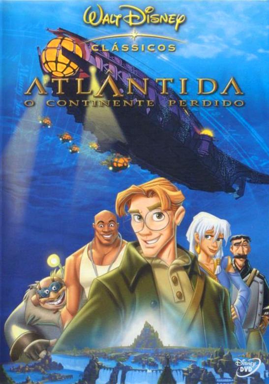 Atlantis – O Continente Perdido Dublado