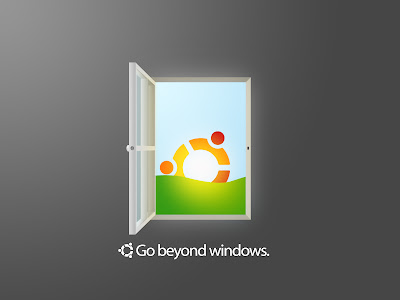 Ubuntu Go Beyond Windows Wallpaper