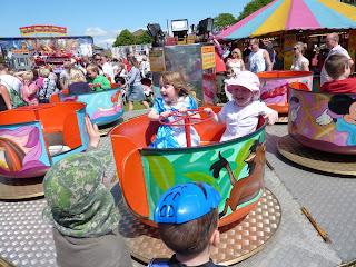 All the fun of the fair - Rosie, Meg, Rob & Chris