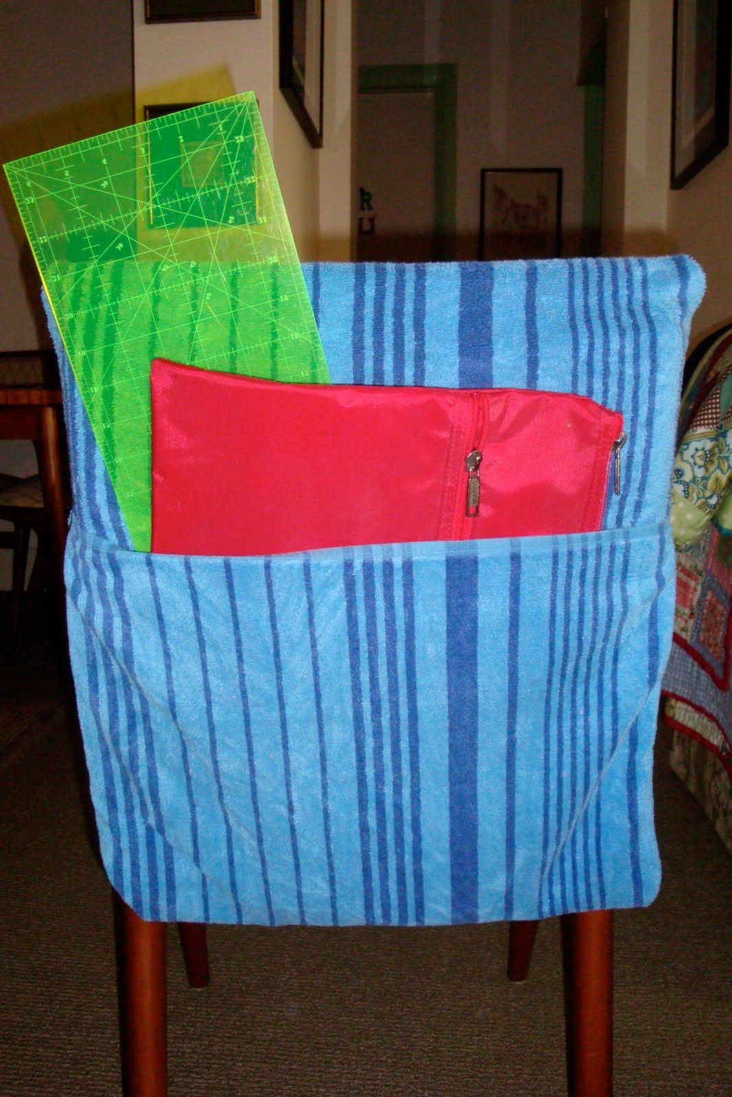 meli B is making things: School Chair Bags