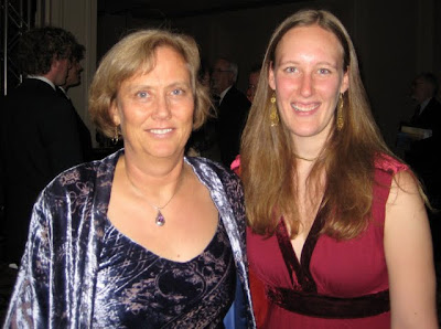 Telle Whitney and Sarah Loos at ACM Awards Banquet in San Diego, 2009