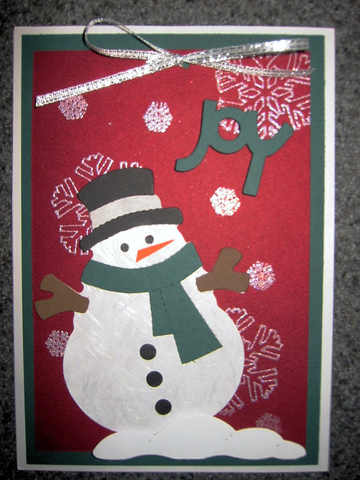 Almost wordless wednesday handmade christmas cards by for Handmade christmas cards