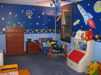 Olive kids kids bedding and decorations new products for Boys outer space bedroom ideas