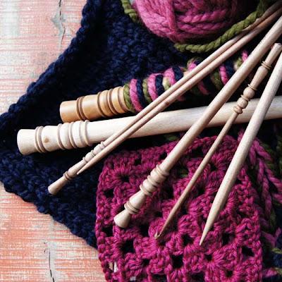 スリーナウッド編み針