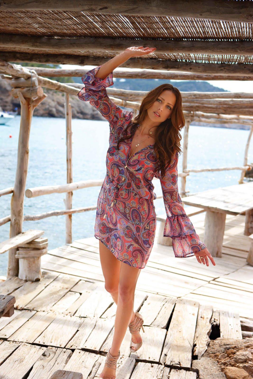fringed swimsuit Strange Swimsuits: Melissa Odabash Sardegna fringed …