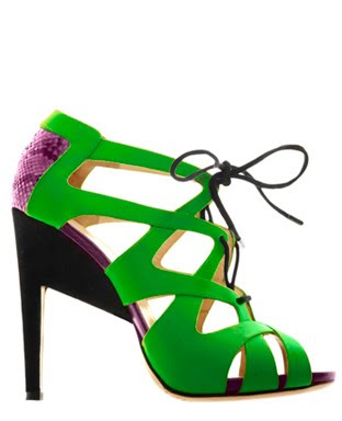 Nicholas_Kirkwood_Fluro_Pyton_lace-up_sandals@marielscastle.blogspot.com