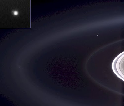 Earth from beyond Saturn