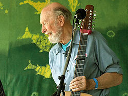 Pete_Seeger 6-16-07 Photo by Anthony Pepitone