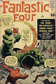 cover of Fantastic Four #1