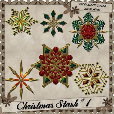 CU Christmas Stash #1 FREEBIE by Tracey Christmas+Stash+Prev