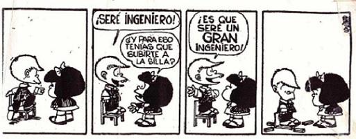 Mafalda ambicion vineta