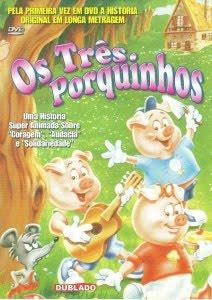 Filme Os Três Porquinhos   Dublado