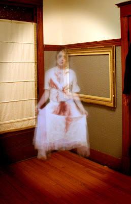 halloween dame blanche