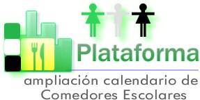 PLATAFORMA PRO AMPLIACIÓN CALENDARIO COMEDORES