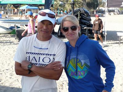 Karen Wrenn and Dave Chun