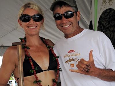 Karen Wrenn and Gerry Lopez