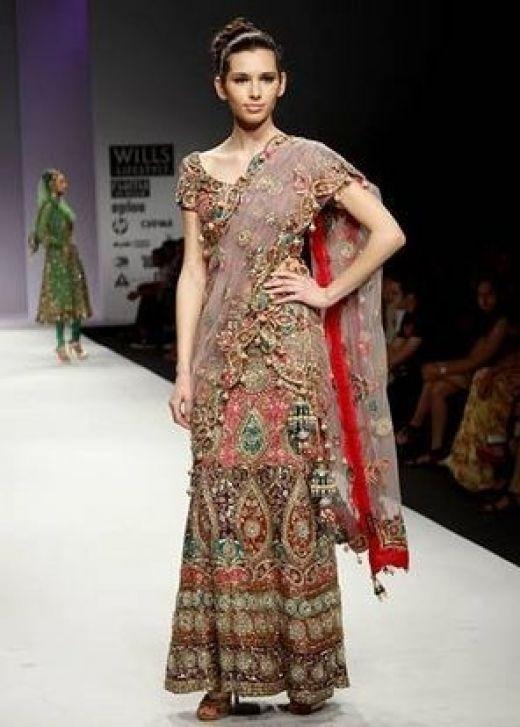 Indian Saree Fashion Show