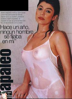 Topless Argentinas Famosas Carolina Papaleo Muestra Pezones