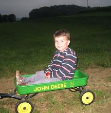Grant on John Deere