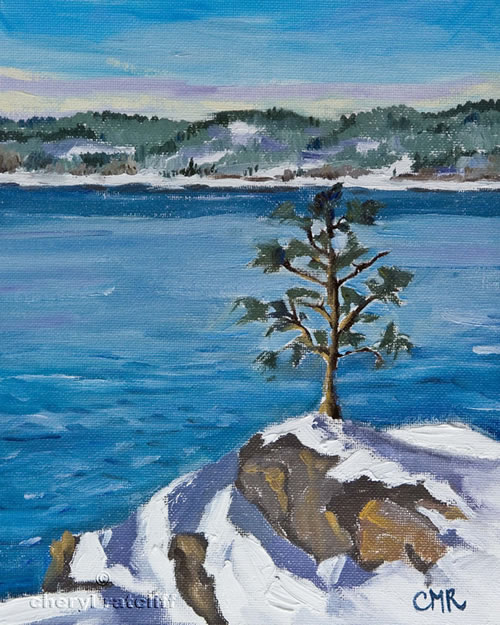 Best-Landscape-Oil-Paintings-Winter-SceneryBy-Cheryl-Ratcliff