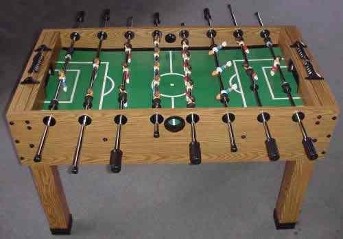 Orang Cina Bukan Cina OCBC The Beautiful Game Foosball - Single goalie foosball table