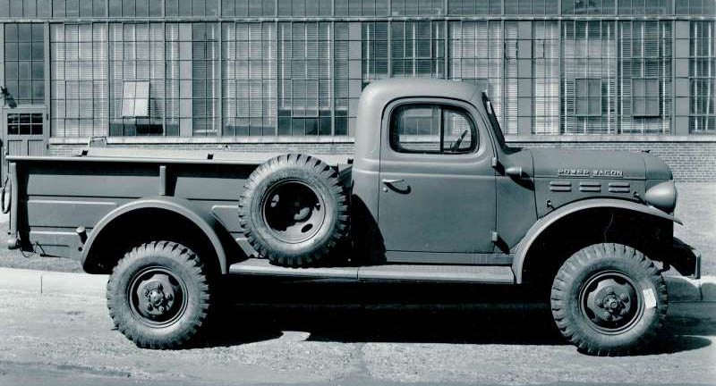 1999 Dodge Power Wagon Concept. Dodge-Ram Power-Wagon, 1951