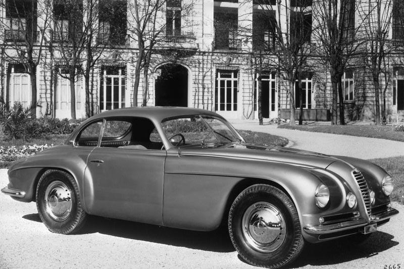 Alfa Romeo 6C 2300 Villa DEste, 1946. The Alfa Romeo 6C name was used on