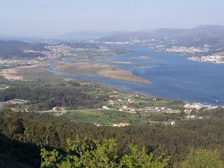 Vistas desde el monte Santa Tegra