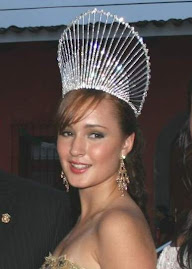 Eva Karina Vzquez Gmez, Reina del Festival San Jernimo 2009