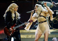 Carrie Underwood and maybe Lita Ford