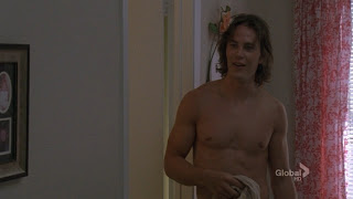 Tim Riggins without a shirt
