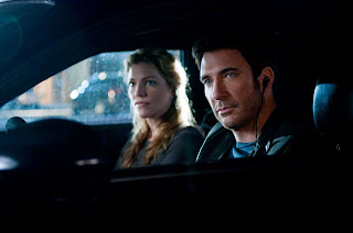 Dylan McDermott and Tricia Helfer of Dark Blue