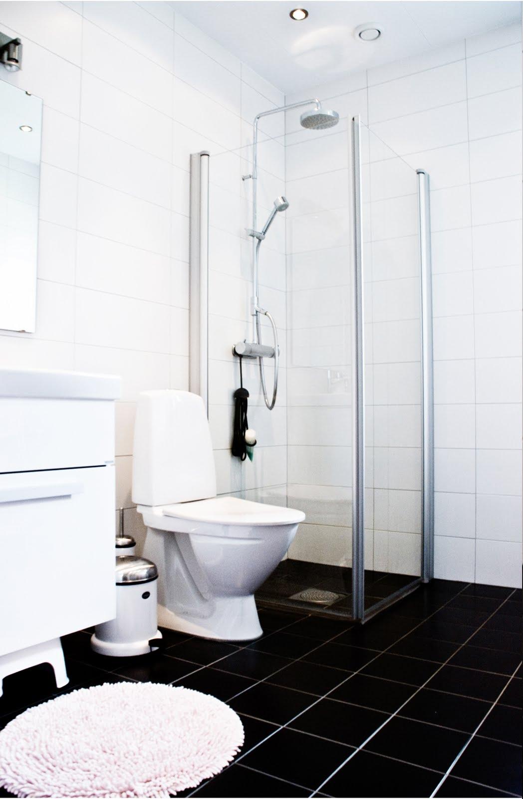 Mitt vita hus: frÄscht i vÅrt lilla badrum