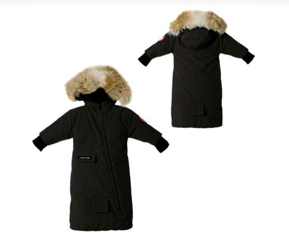 Lises Home Canada Goose Baby Snowsuit