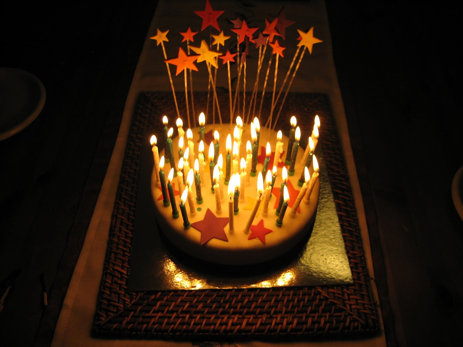 Images Birthday Cake On Fire : DarkDwarf Blog: Birthday Cake / Fire Hazard