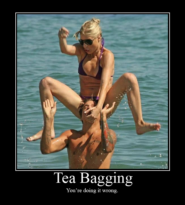 You might be a Teabagger if.....