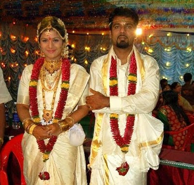 Film Actress Ramba marriage still