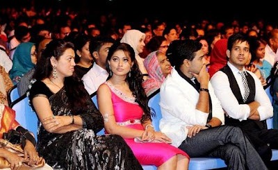 Sneha and Bharath in ITFA awards